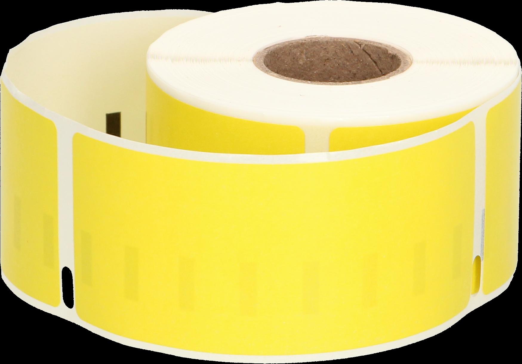 Huismerk Dymo 99012 adreslabel breed geel