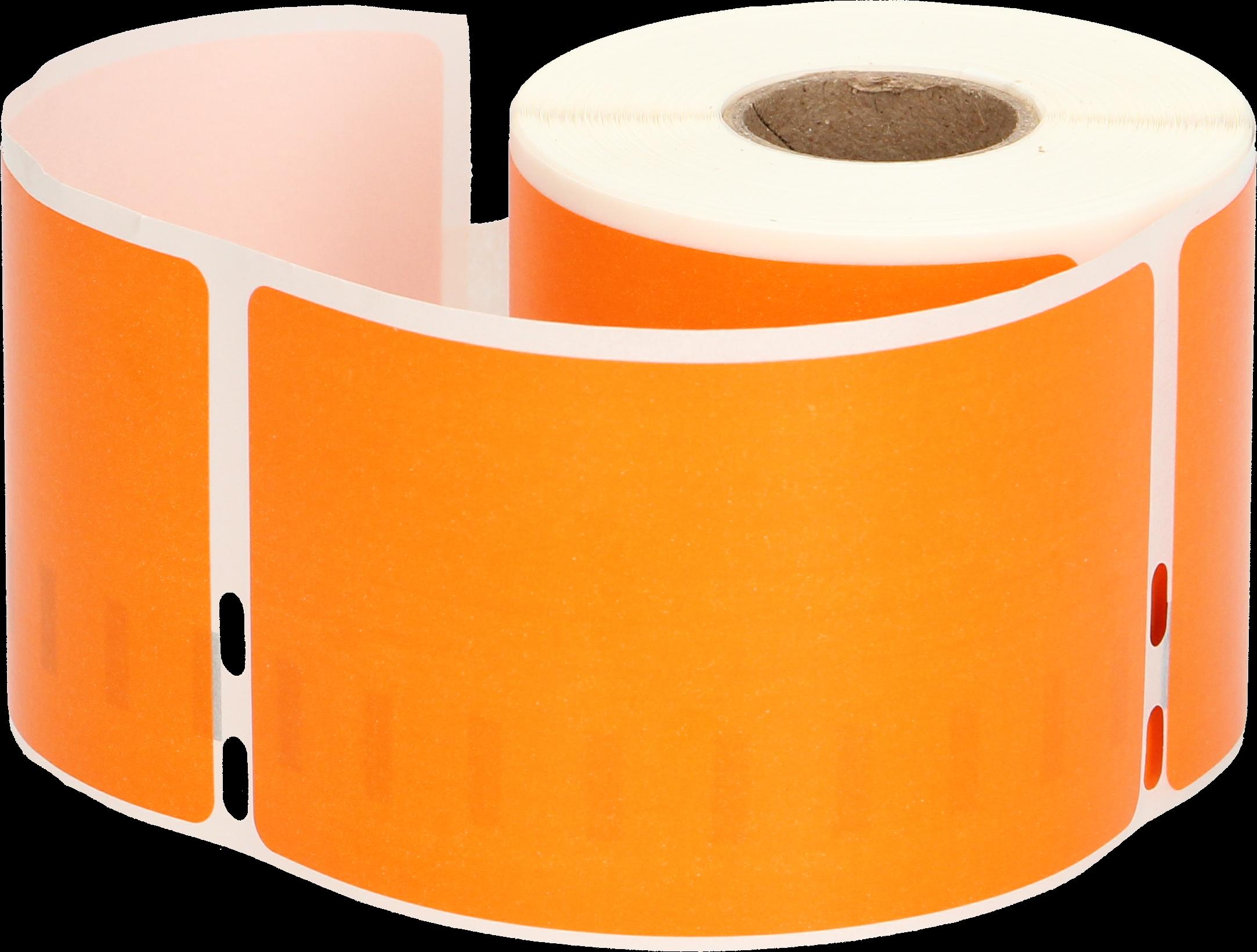 Huismerk Dymo 99014 Adreslabel groot oranje