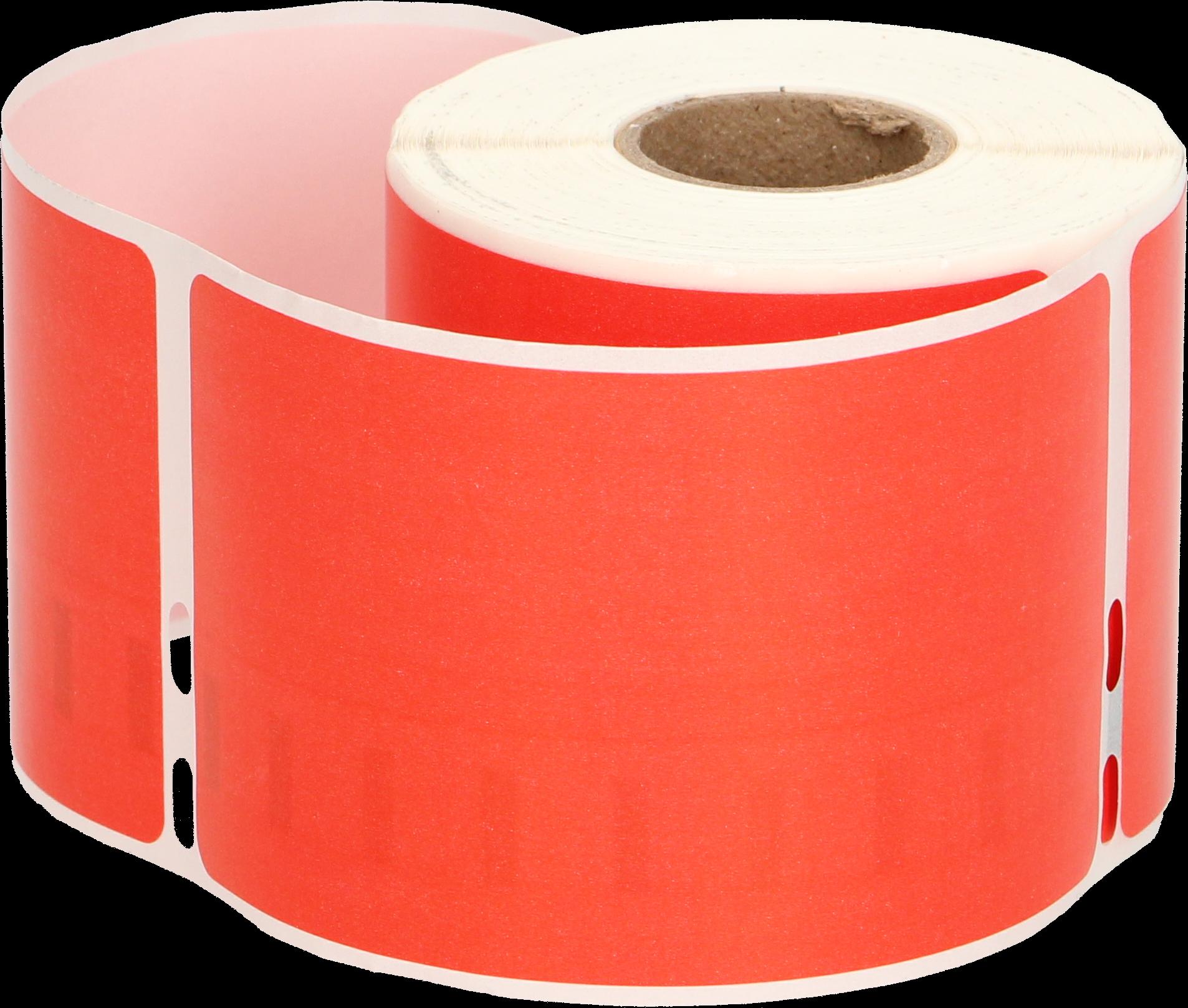 Huismerk Dymo 99014 Adreslabel groot rood