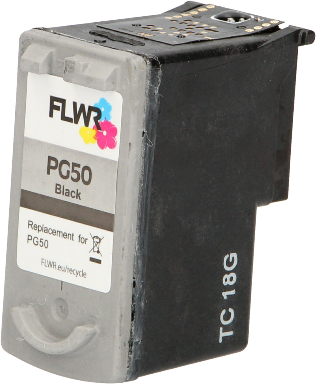 FLWR Canon PG-50 hoge capaciteit zwart