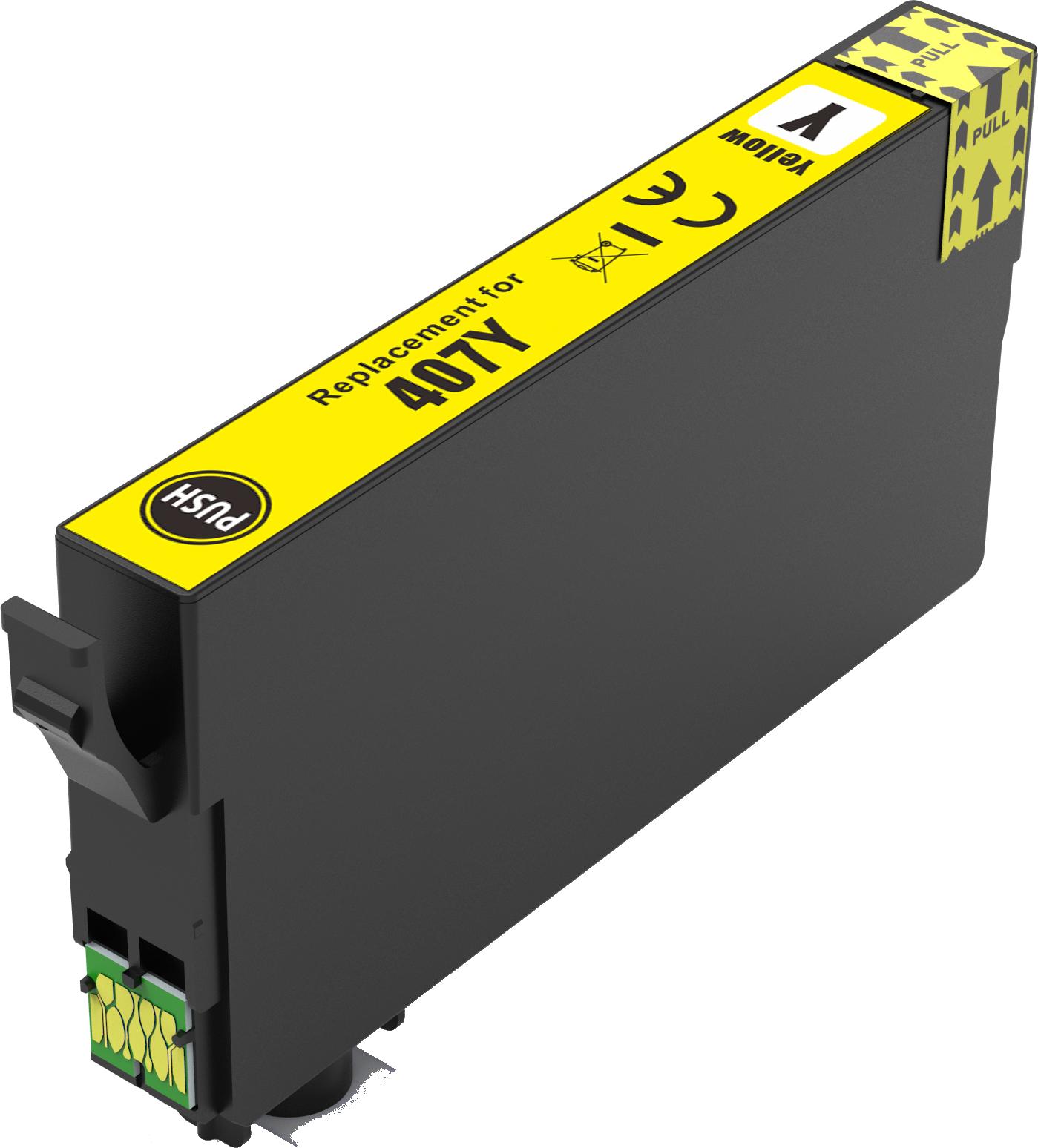 Huismerk Epson 407XL geel