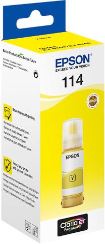 Epson 114 Inktfles geel