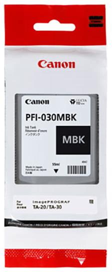 Canon PFI-030 mat zwart