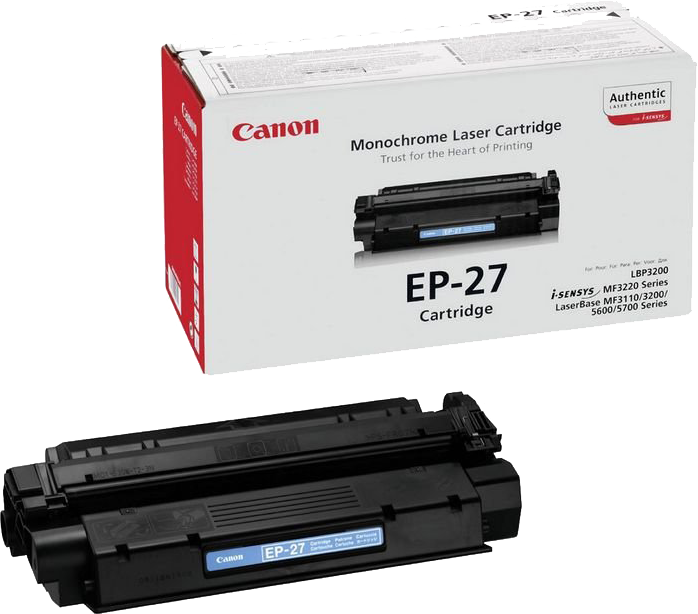 Canon EP-27 zwart