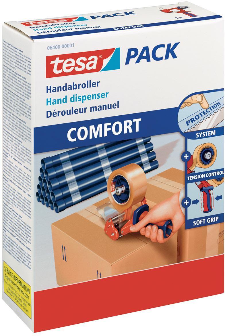 Tesa 6400 verpakkingshanddispenser Comfort