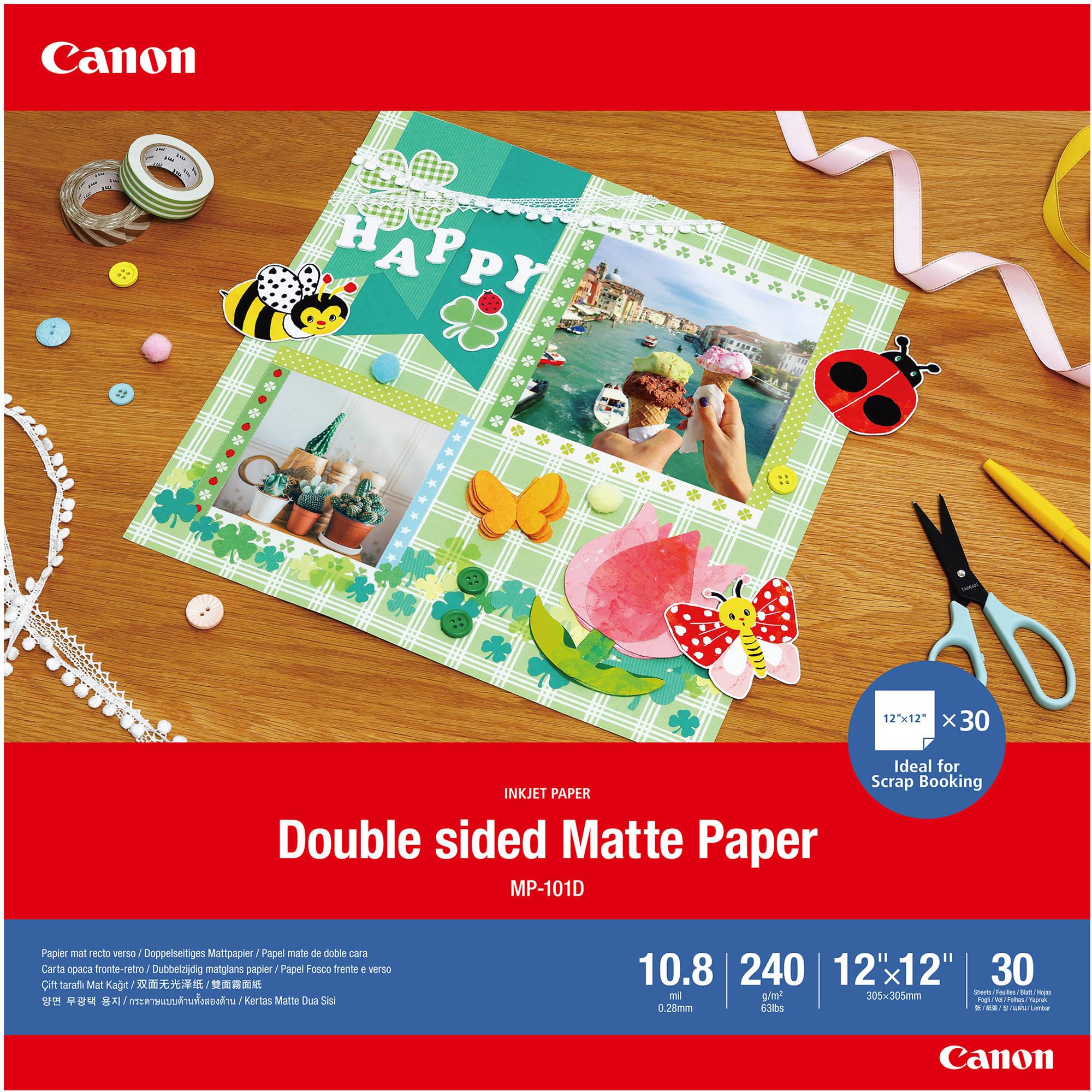 Canon  MP-101D fotopapier 30x30 Mat |  | 240 gr/m² 30 stuks