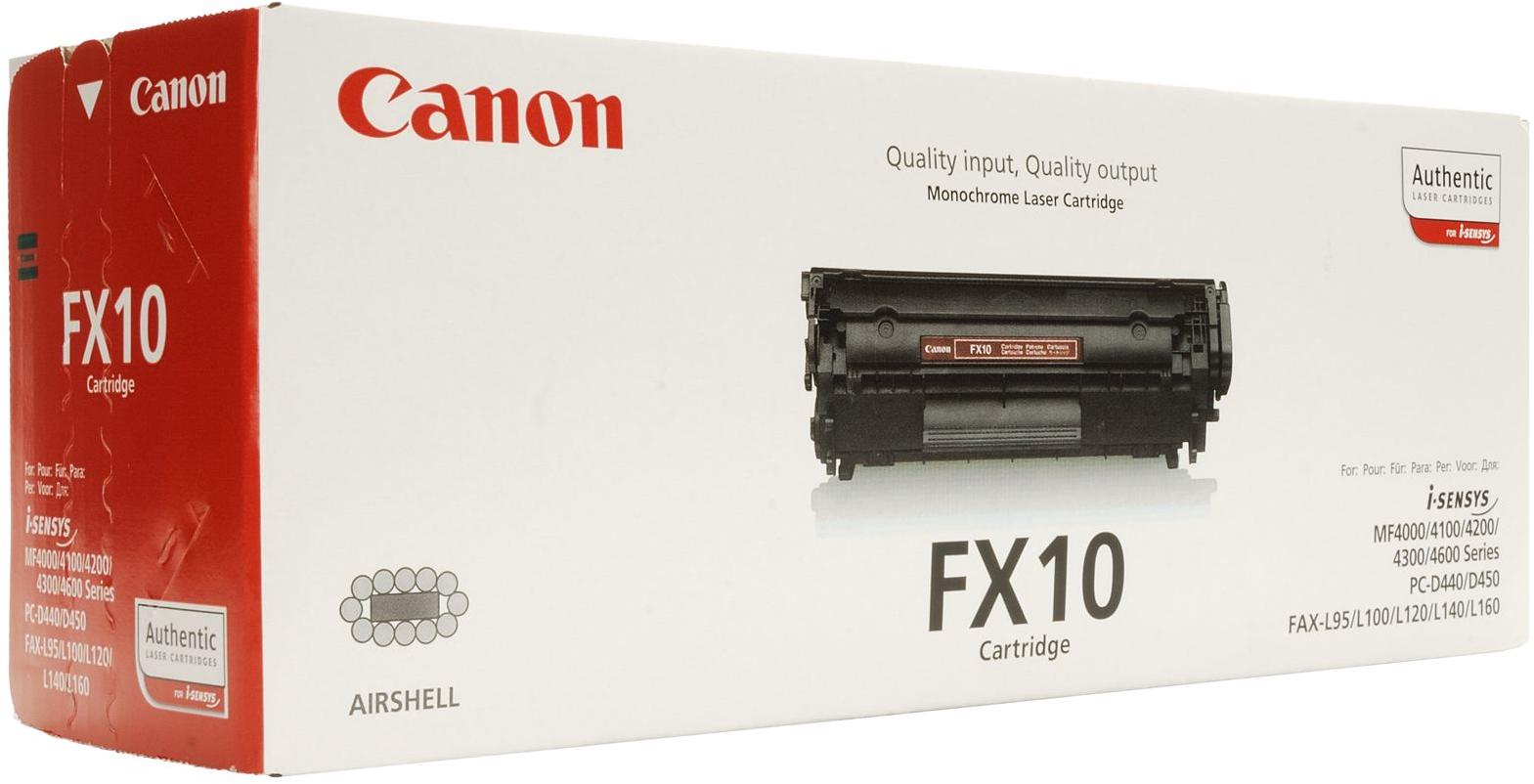 Canon FX-10 toner zwart
