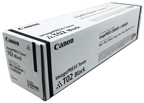 Canon T02 toner zwart
