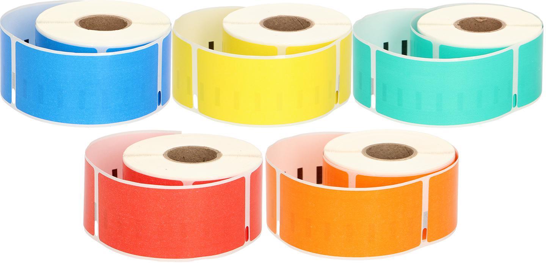 Huismerk Dymo  99012 adreslabel 5-pack 89 mm x 260 mm  kleur
