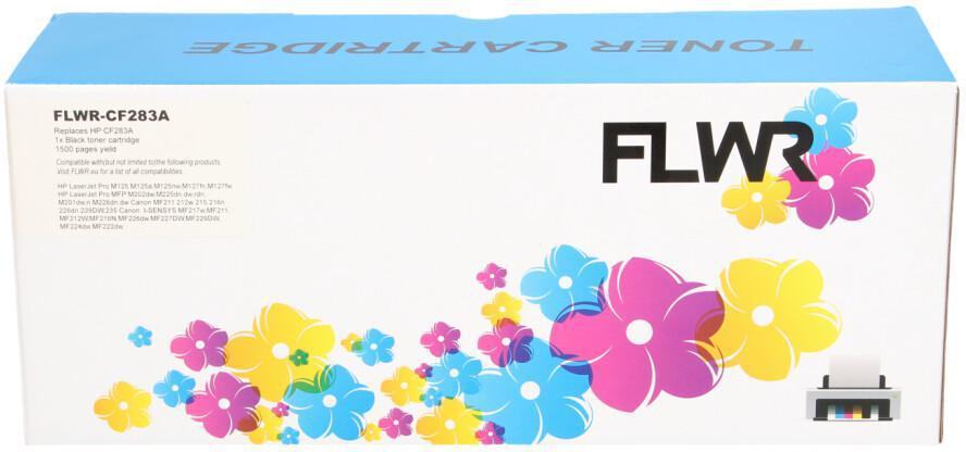 FLWR Canon CRG-737 zwart
