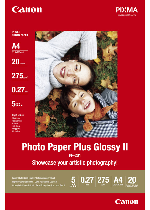 Canon PP-201 A4 Glossy Fotopapier wit