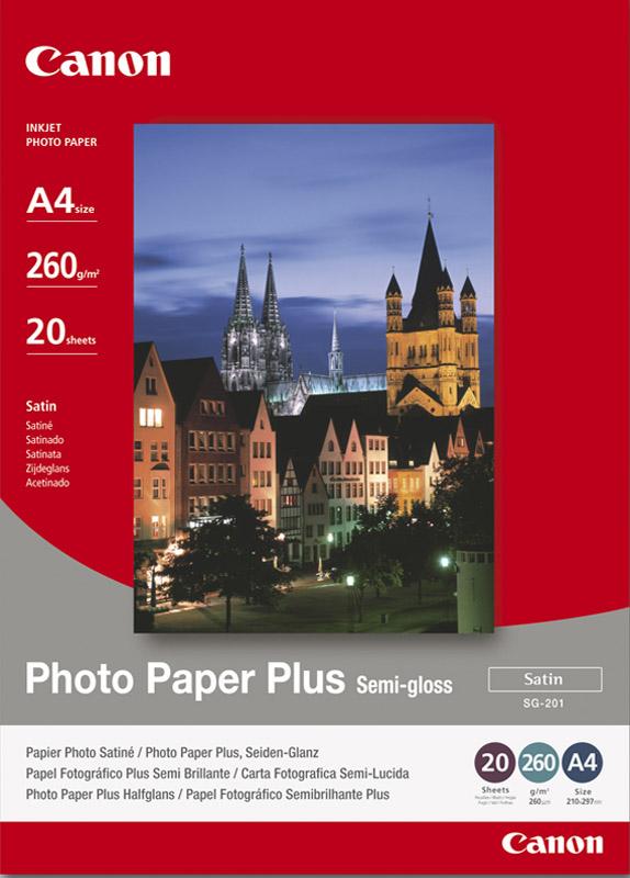 Canon SG-201 A4 Foto Papier Plus Halfglans