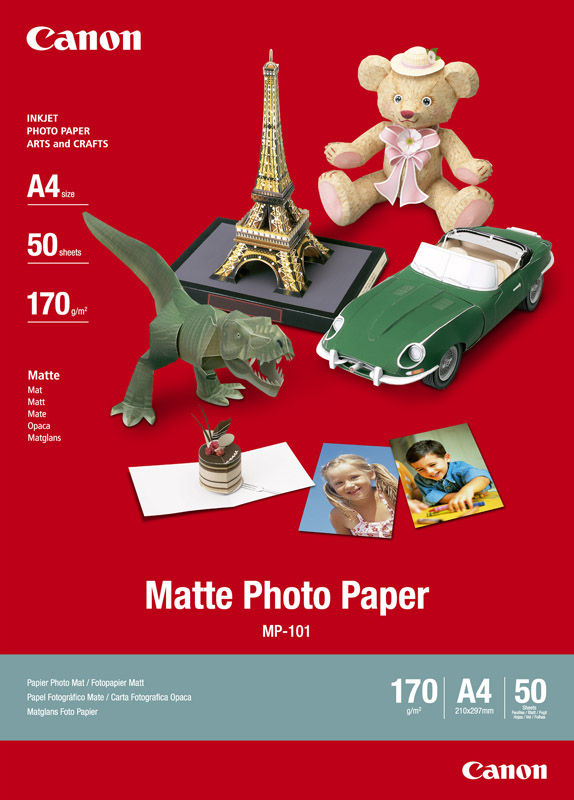 Canon MP-101 Matglans Foto Papier A4 wit