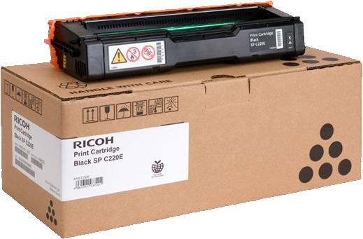 Ricoh SPC220E zwart
