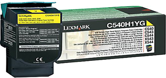 Lexmark C540H1YG geel