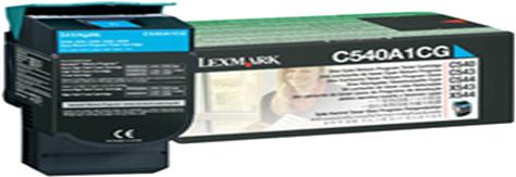Lexmark C540A1CG cyaan