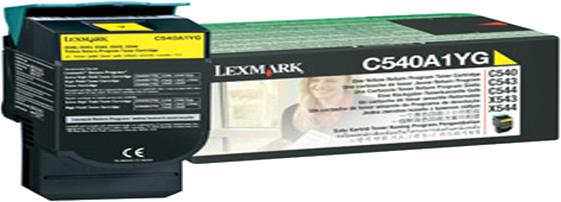 Lexmark C540A1YG geel