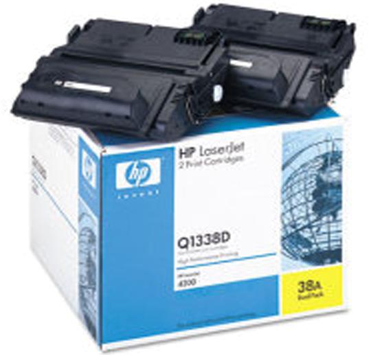 HP 38A Dual Pack zwart