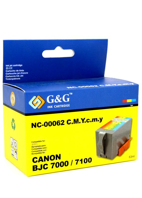 Huismerk Canon BCI-62C kleur