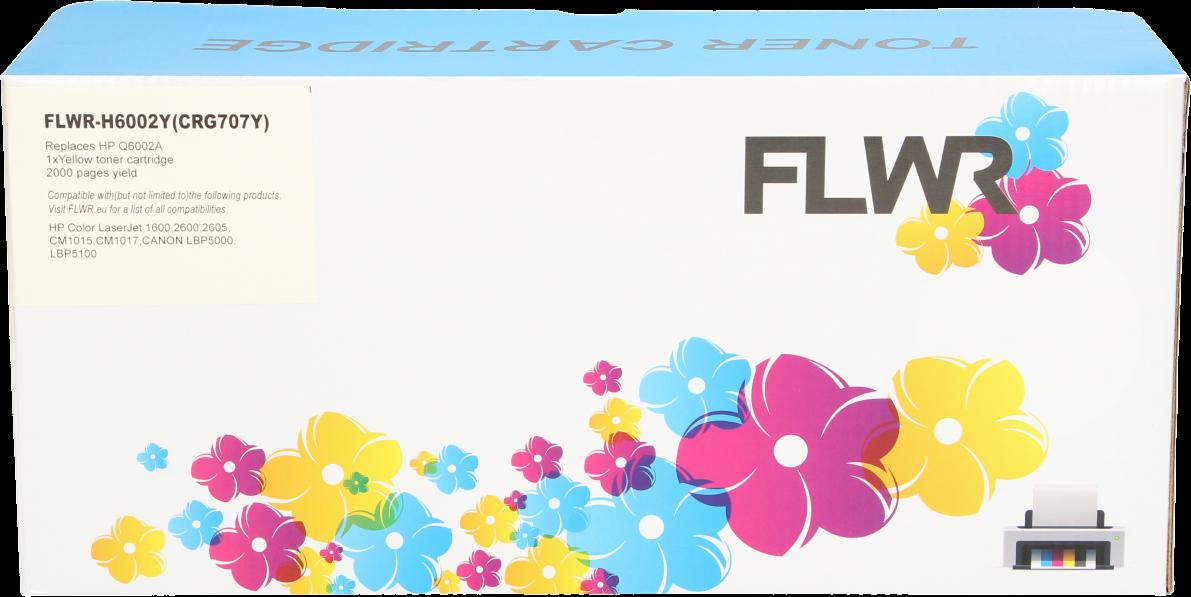 FLWR HP 124A geel