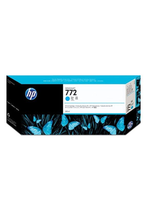 HP 772 cyaan