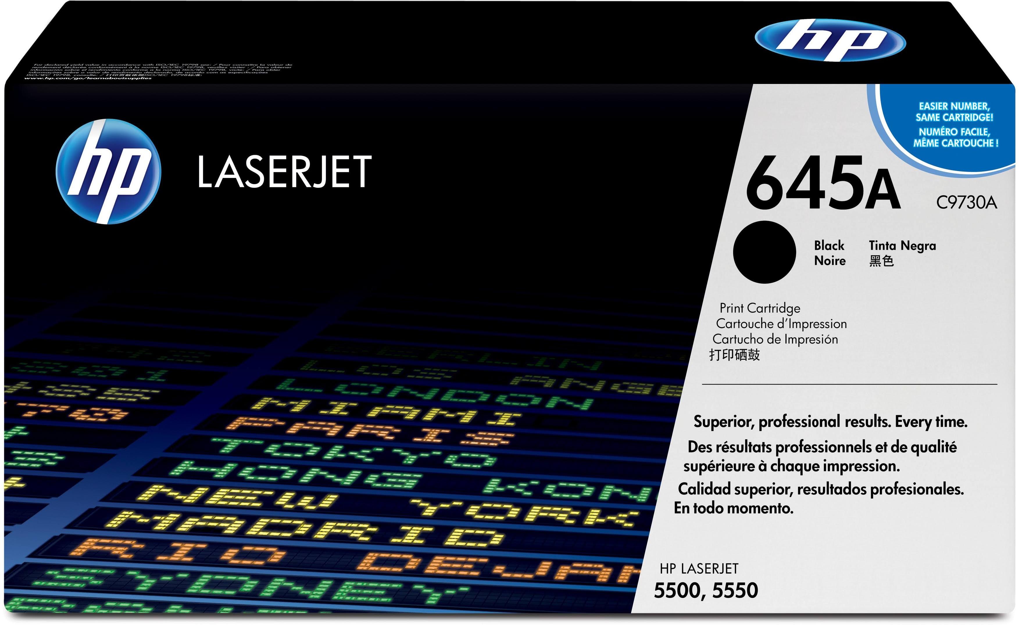 HP 645A zwart