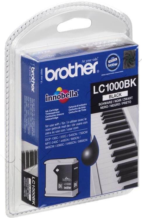 Brother LC-1000BK zwart