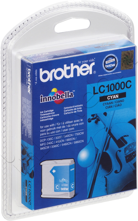 Brother LC-1000C cyaan