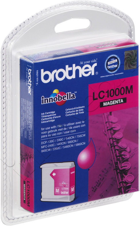 Brother LC-1000M magenta