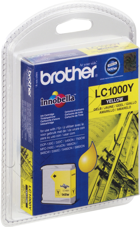 Brother LC-1000Y geel