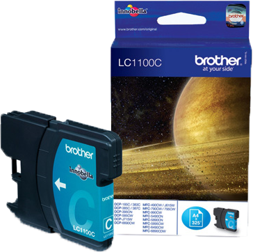 Brother LC-1100C cyaan