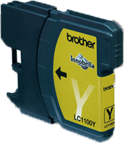 Brother LC-1100Y geel