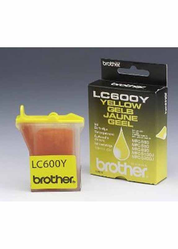 Brother LC-600Y geel