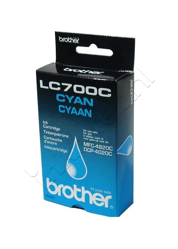 Brother LC-700C cyaan