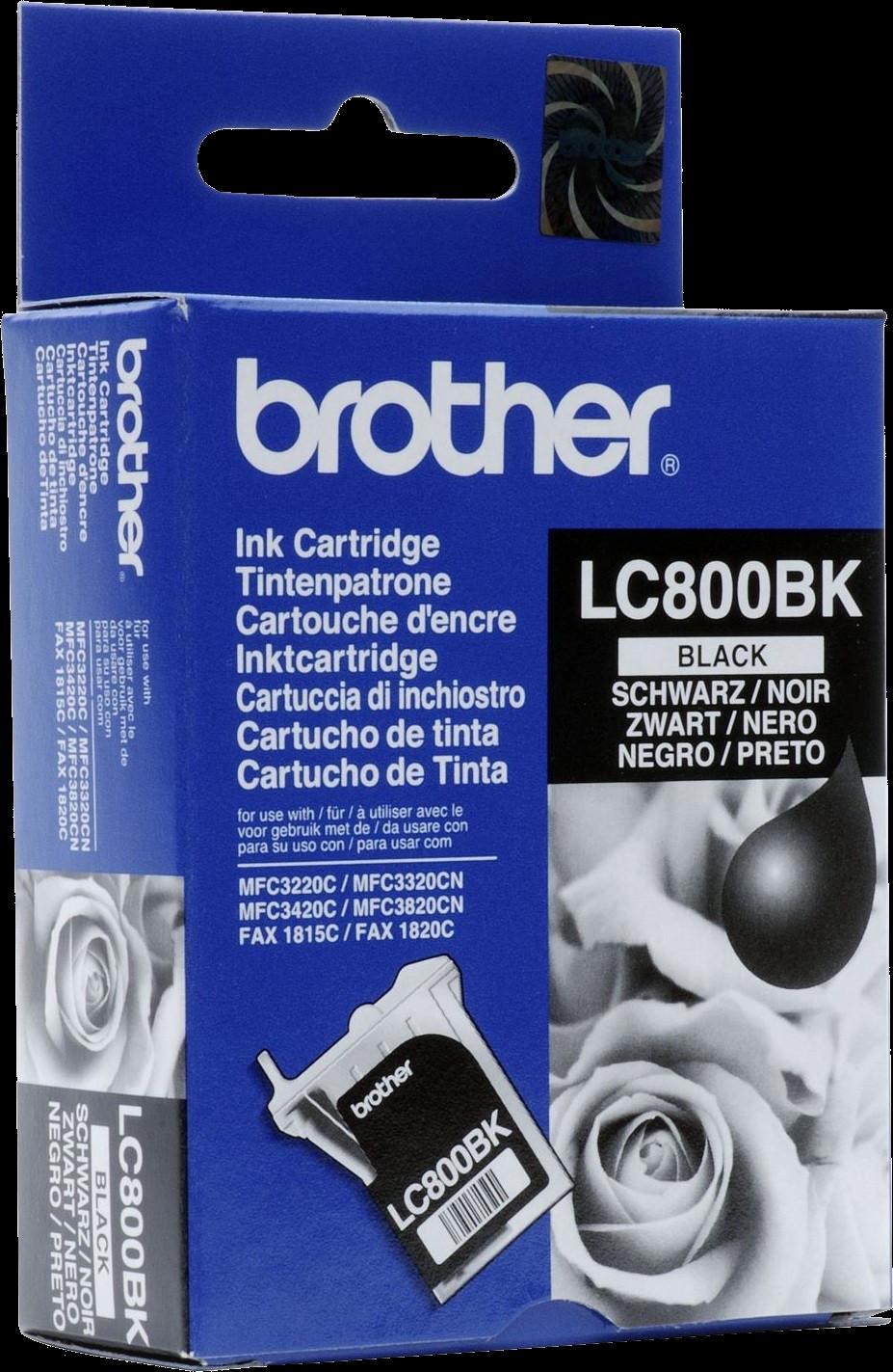 Brother LC-800BK zwart