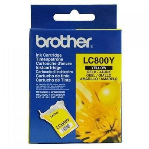 Brother LC-800Y geel