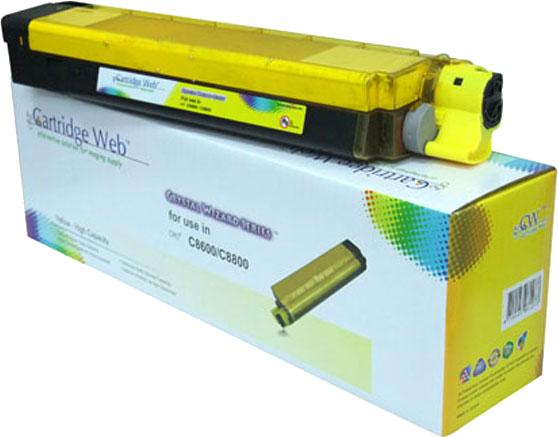 Huismerk Oki C8600 / C8800 geel