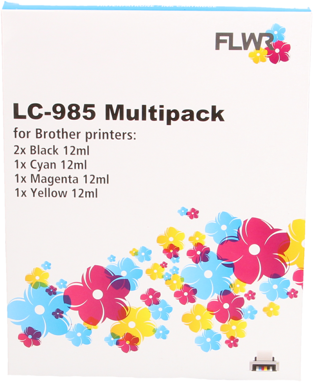 Brother LC-985 Multipack zwart en kleur