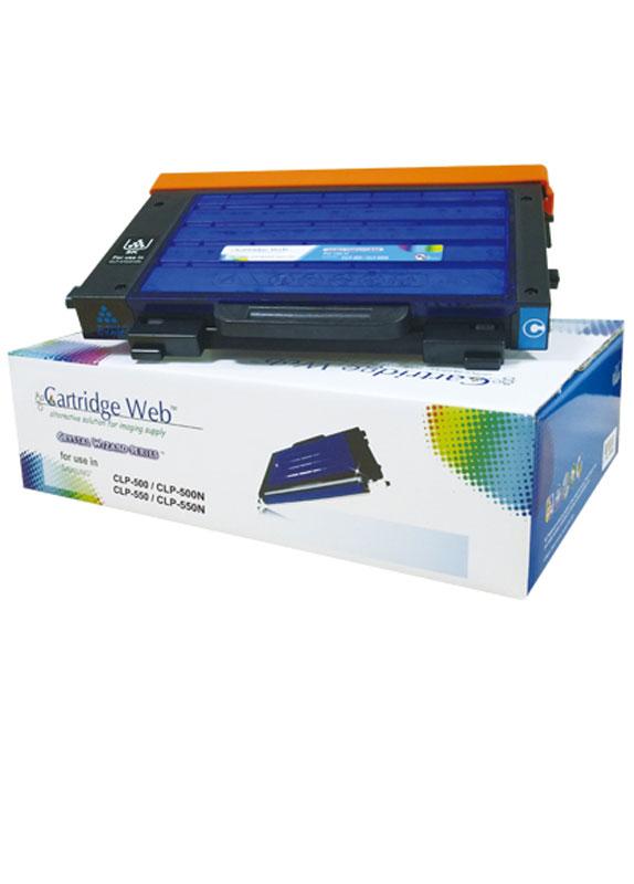 Huismerk Samsung CLP-500 / CLP-550 cyaan