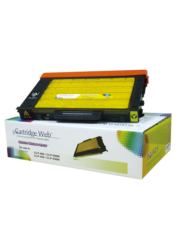 Huismerk Samsung CLP-500 / CLP-550 geel