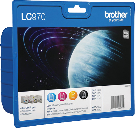 Brother LC-970 multipack