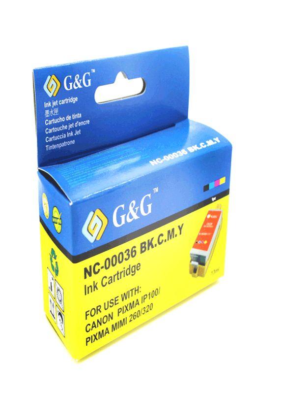 Huismerk Canon CLI-36 kleur