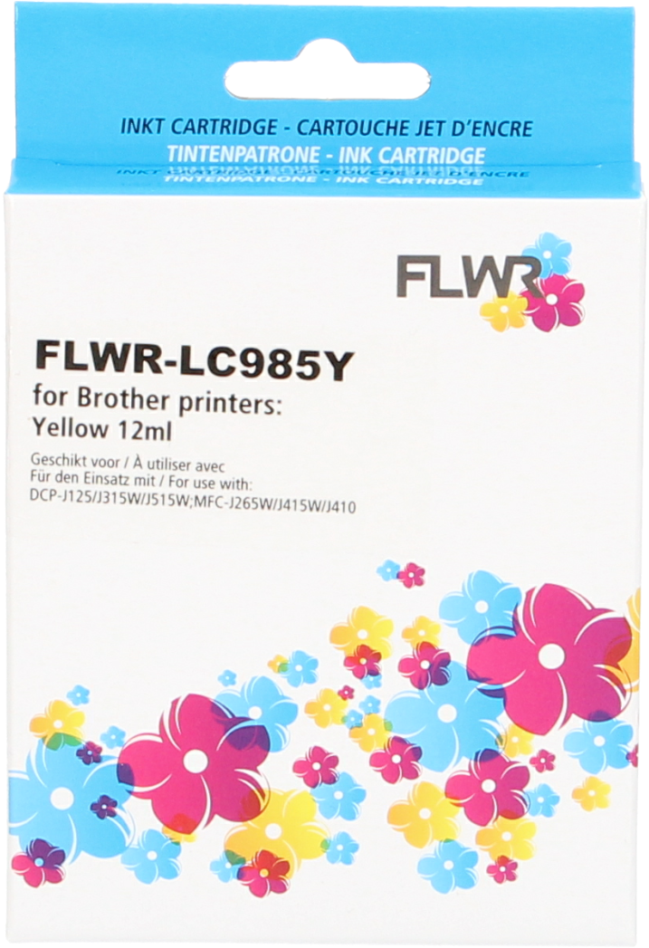FLWR Brother LC-985Y geel