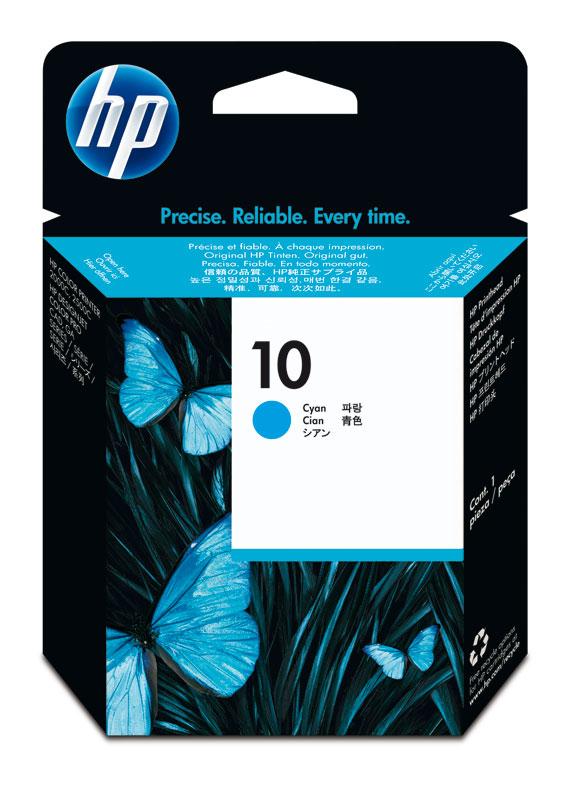 HP 10 printkop cyaan