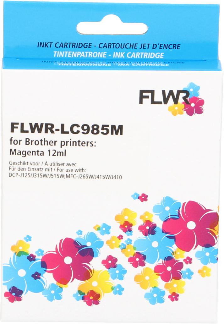 FLWR Brother LC-985M magenta