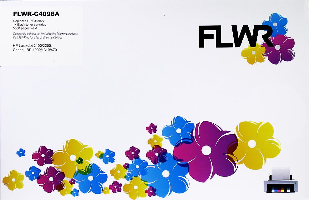 FLWR HP 96A zwart