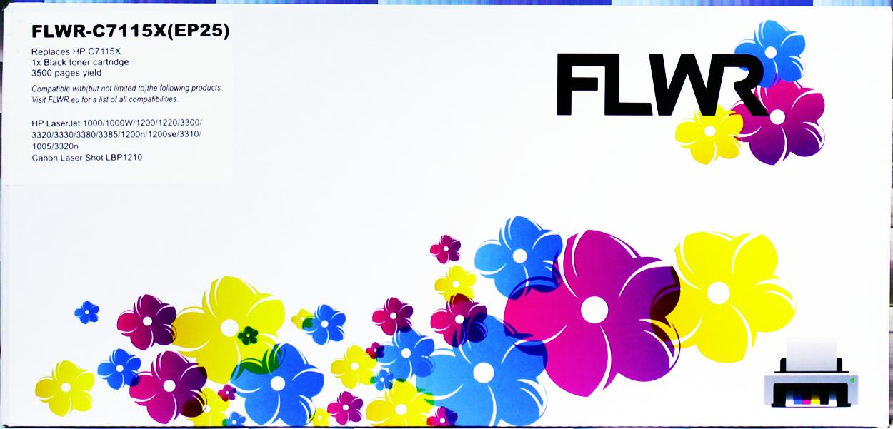 FLWR HP 15X zwart