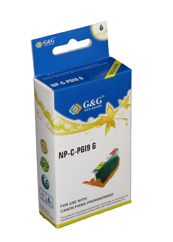 Huismerk Canon PGI-9G groen