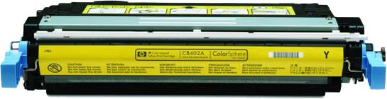 Huismerk HP 642A geel