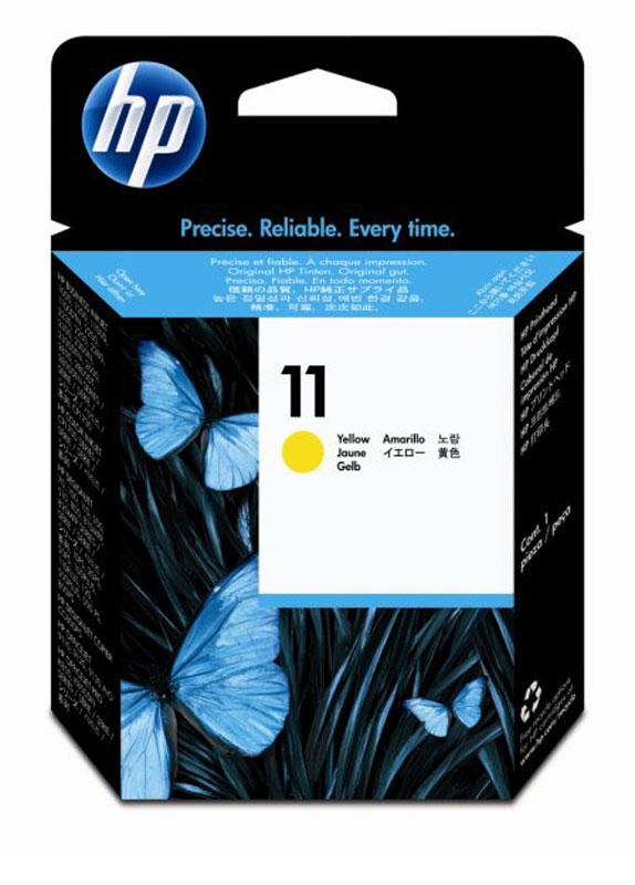 HP 11 printkop geel